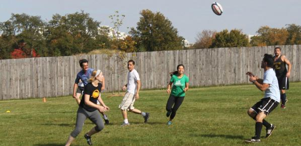 DC touch rugby social game washington football