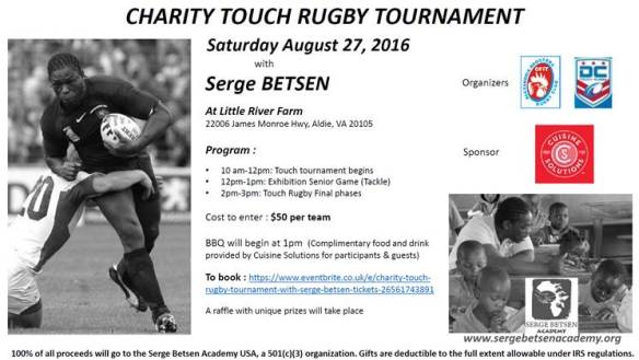 Flyer Rugby Tournament 2016 USA Final