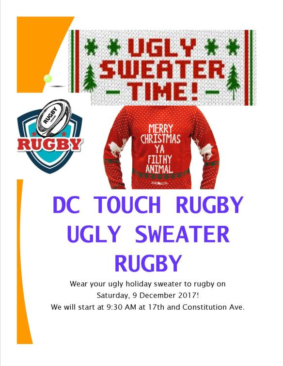 Ugly Sweater Rugby
