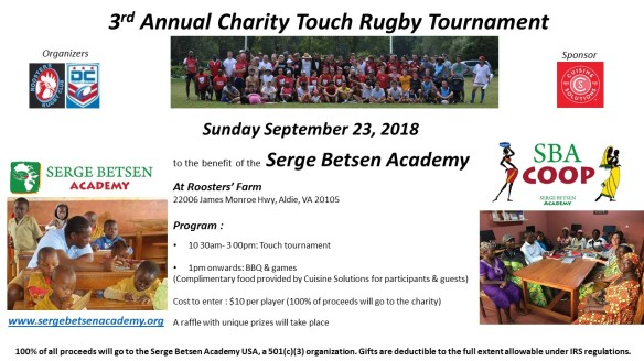 Flyer Rugby Tournament 2018 USA_